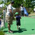 Holes and Knolls mini-golf course