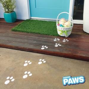 Easter Hoppy Paws stamp kit