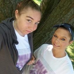 Illinois Lupus Society Raven and Shantel Lauer