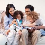 Family Reading Night dollar photo