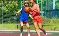 Summer Camp basketball