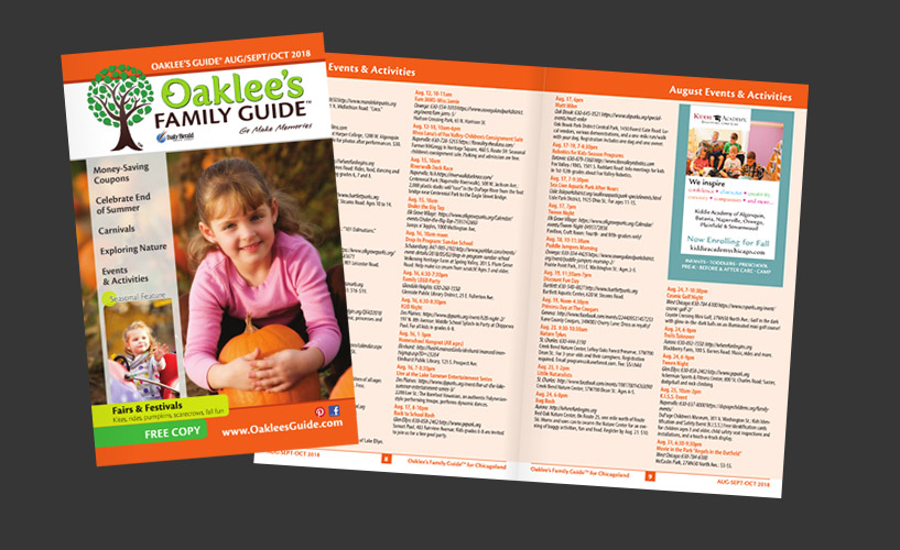 Oaklee's Family Guide Digital Publication