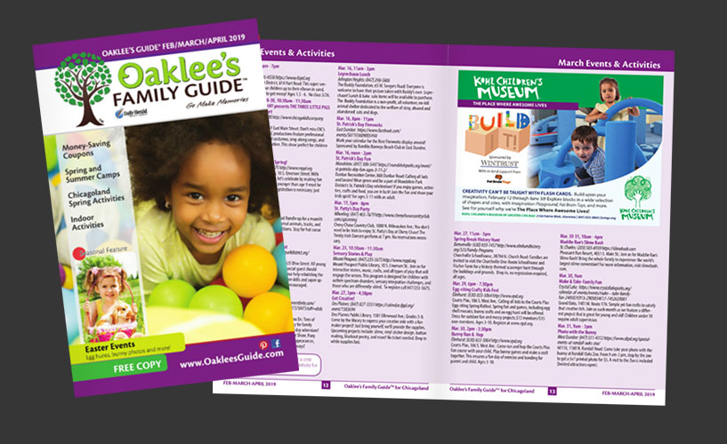 Oaklee's Family Guide Digital Publication
