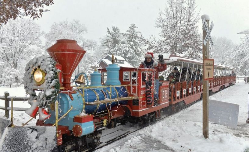 Holiday Express Train at Blackberry Farm