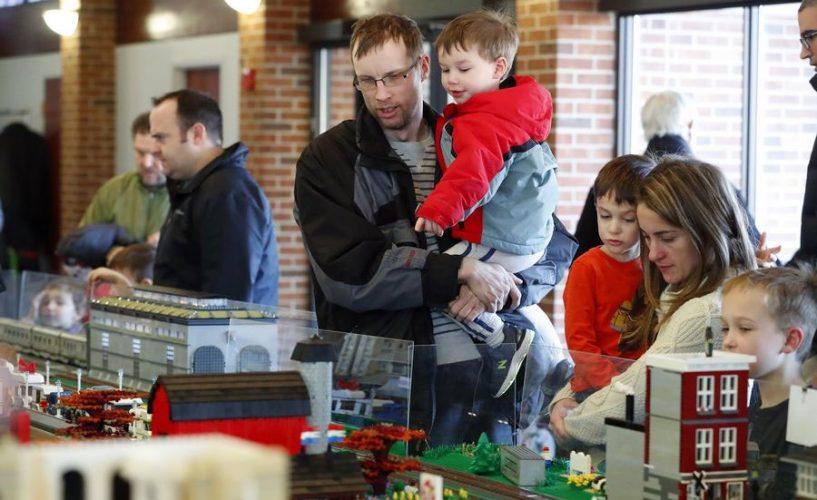 Lego Train Show at Cantigny Park 2019